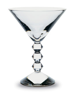 Baccarat Vega Martini Glass, Clear