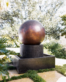 Rotating Ball Fountain