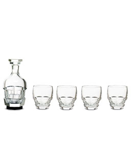 Baccarat Limited-Edition Abysse Bar Set