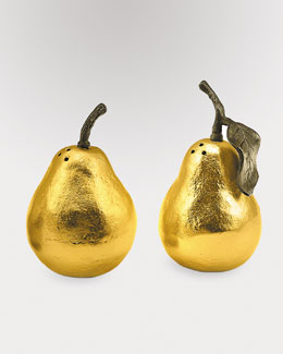 "Michael Aram ""Pear"" Salt & Pepper Shakers"