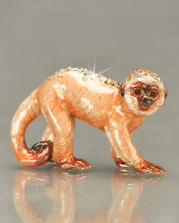 "Jay Strongwater ""William"" Monkey Mini Figurine"