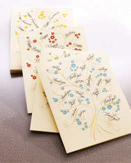 Bernard Maisner Tree Collection Folded Card Mixed Set