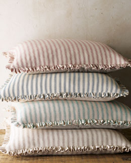French Laundry Home Ticking-Stripe European Sham