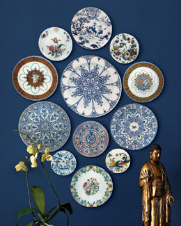 John Derian 12-Piece Faience Wall Hanging
