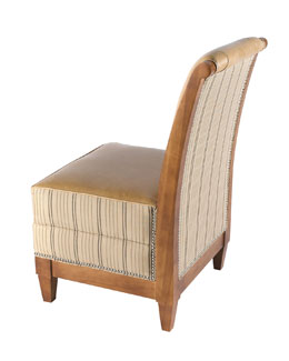 Key City Furniture Each Linen Chair