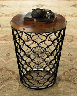 Global Views Lattice Side Table