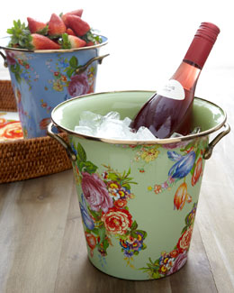 "MacKenzie-Childs ""Flower Market"" Wine Cooler"