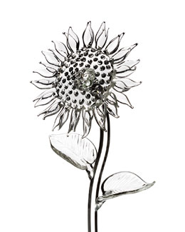 Waterford Crystal Glass Sunflower