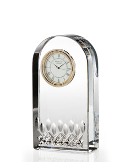 "Waterford Crystal ""Lismore Essence"" Clock"