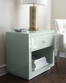 """Ocean Glass"" Side Table"