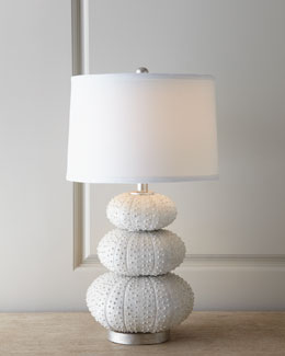 """Stacked Sea Urchin"" Lamp"