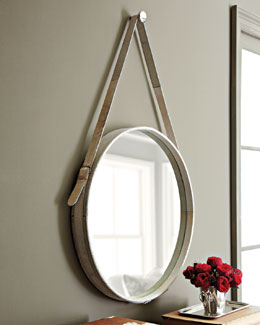Jamie Young Hairhide Mirror