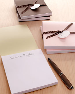 Two Notepads with Folder Covers