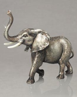 Jay Strongwater Elephant Figurine
