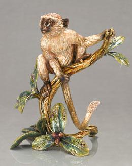 "Jay Strongwater ""Kamili"" Monkey Figurine"