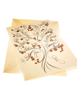 "Bernard Maisner Eight ""Tree of Life"" Holiday Cards"