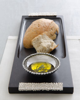 "Michael Aram ""Molten"" Olive Oil Dipping Board"