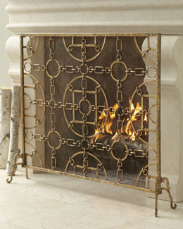 """Equestrian"" Fireplace Screen"