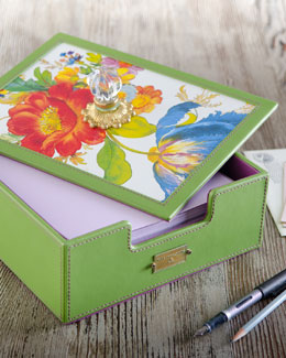 "MacKenzie-Childs ""Flower Market"" Desk Box"