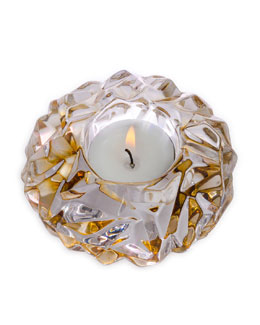 "Orrefors ""Carat Gem"" Votive Holder"