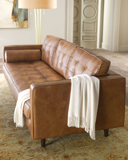 """Albania"" Leather Sofa"
