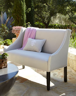 Outdoor Upholstered Banquette
