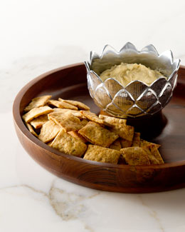 Arthur Court Artichoke Chip & Dip Server