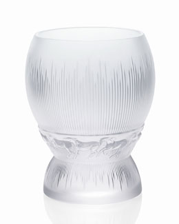"Lalique Medium ""Epona"" Vase"
