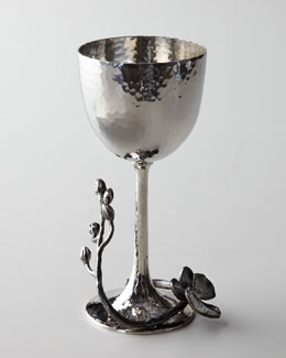 "Michael Aram ""Black Orchid"" Kiddush Cup"