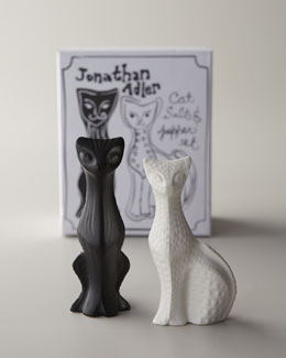 Jonathan Adler Cat Salt & Pepper Shakers