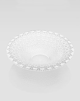 "Lalique ""Venezia"" Crystal Bowl"
