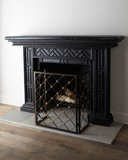 """Country Manor"" Mantel"