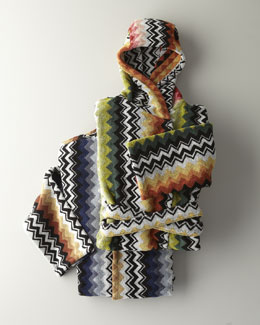 "Missoni Home ""Niles"" Hooded Bath Robe"