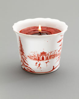 "Juliska Ruby ""Winter Holiday"" Soy Candle"