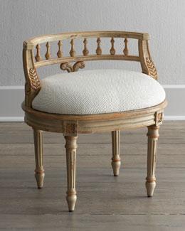 """""""Taryn"""" Vanity Seat"""