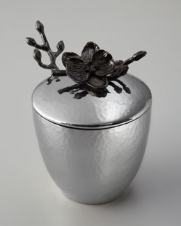 "Michael Aram ""Black Orchid"" Mini Pot with Spoon"