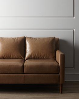 """""""Darnella"""" Leather Sofa"""