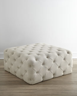 "NM EXCLUSIVE ""Puffet"" Ottoman"