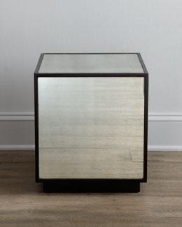 """Cee-Cee"" Mirrored Cube"