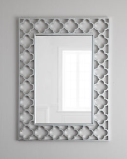 Gaelic Quatrefoil Wall Mirror