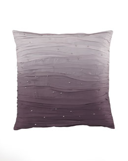 "Donna Karan Home ""Ombre Crush"" 20""Sq. Pillow, Haze"
