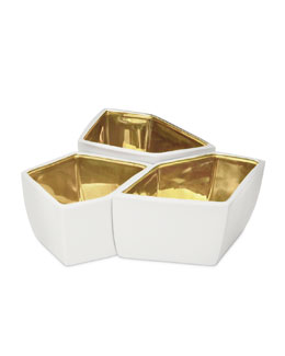 AERIN Three Geo Bowls