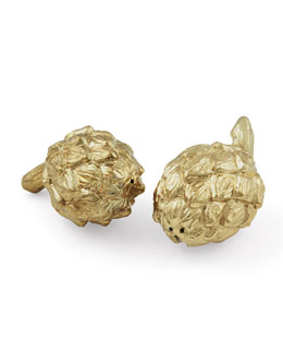 AERIN Artichoke Salt & Pepper Shakers