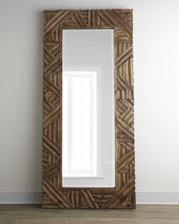 """Tehama"" Floor Mirror"