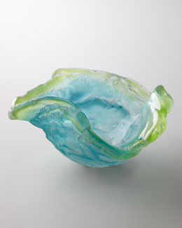 "Amanda Brisbane ""Blue Poppy"" Bowl"