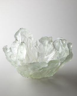 "Amanda Brisbane ""Silver Frozen Water"" Bowl"