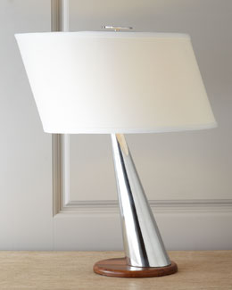 "Nambe ""Silver Wind"" Table Lamp"