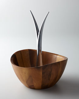 Nambe Fruit Bowl & Tree