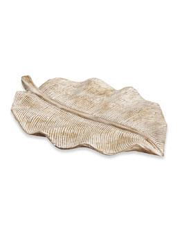 """Chablis"" Leaf Platter"