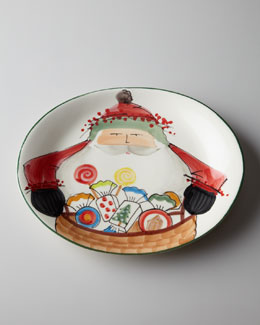 "Vietri ""Old St. Nick"" 2012 Festa Platter"